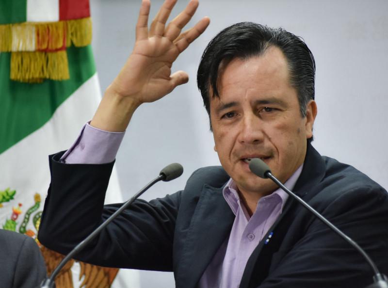 """No debe haber """"grupos golpistas"""" : Gobernador Veracruz"""