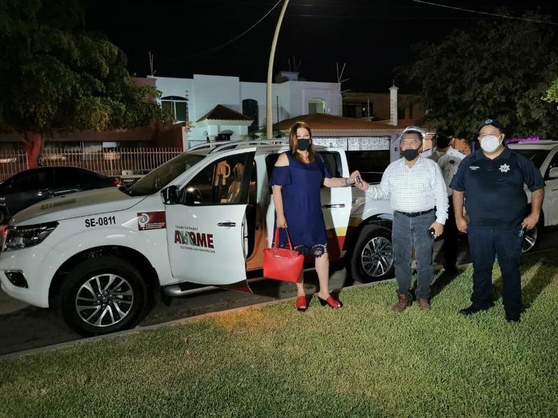 Dota municipio de Ahome, unidad móvil a Oficina de Búsqueda de Personas Desaparecidas.