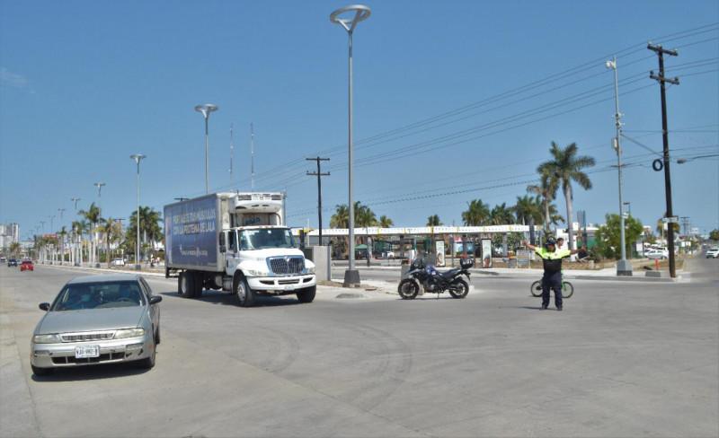Abren nuevo tramo de la Avenida Rafael Buelna