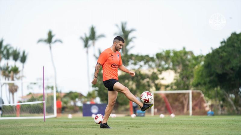 Mazatlán FC comienza su tercer día de entrenamiento con la primera cesión