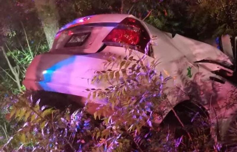 Fallece mujer en accidente automóvilistico en Costa Rica