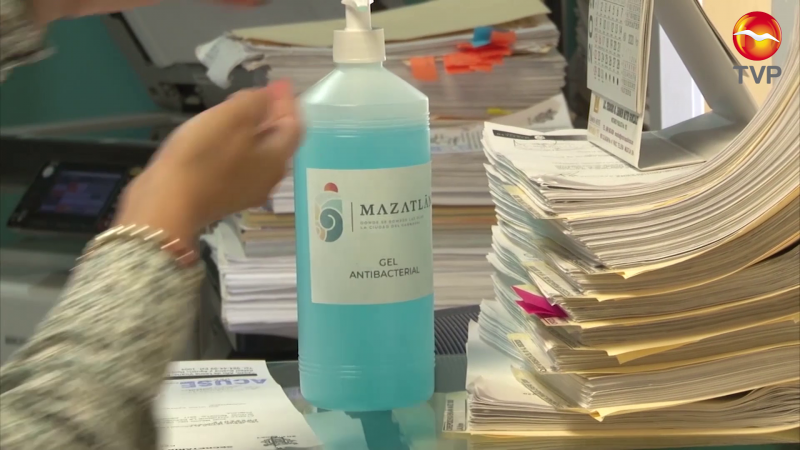 Ascienden a 32, los contagios en el Ayuntamiento de Mazatlán
