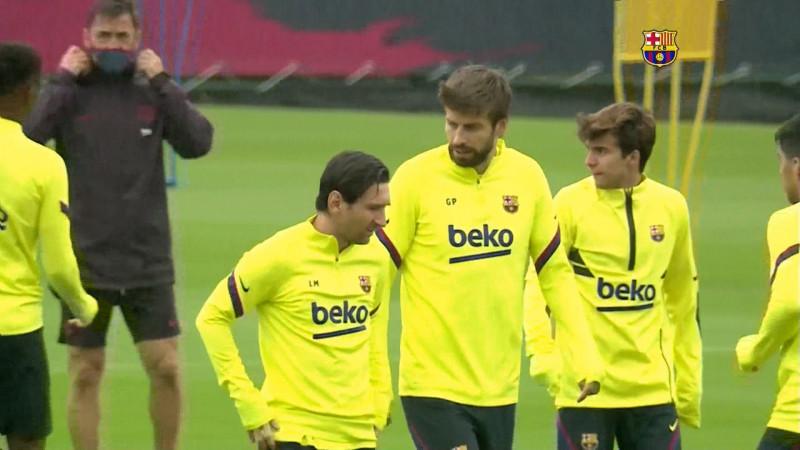Barcelona se alista para enfrentar al Sevilla