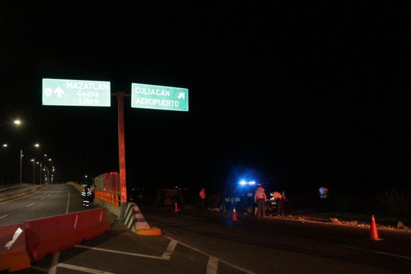 Fallece hombre en accidente automovilístico