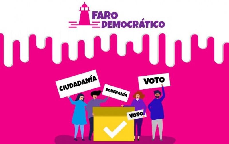 """Lanzan plataforma digital  """"Faro Democrático"""""""