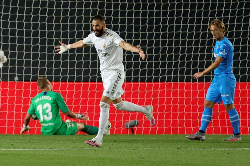 Real Madrid vence al Valencia