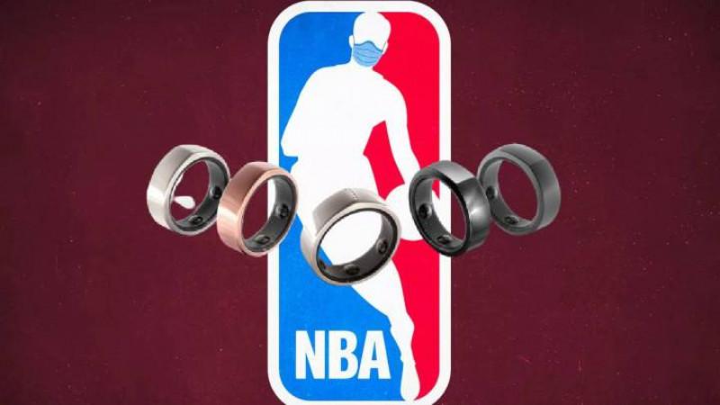 Jugadores de NBA podrán usar anillos para predecir sintomas de Covid-19