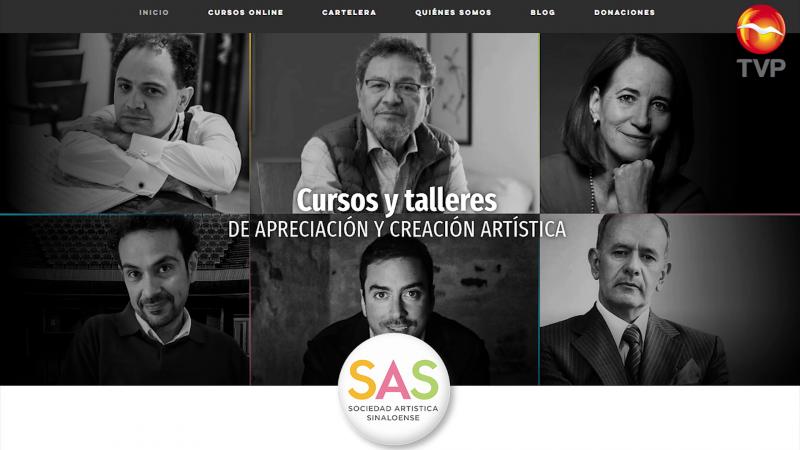 Sé parte de los talleres de apreciación y creación artística en línea