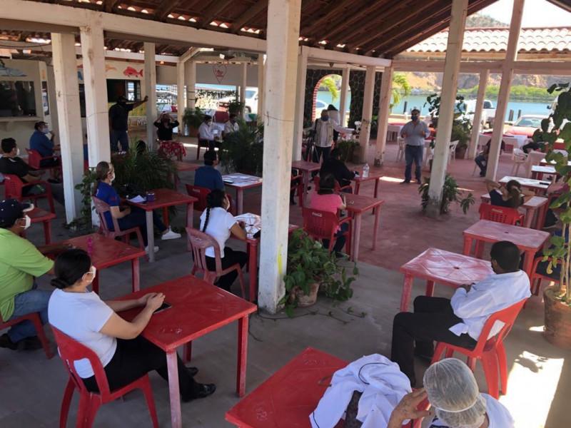 Se preparan restauranteros del maviri para abrir el 23 de junio