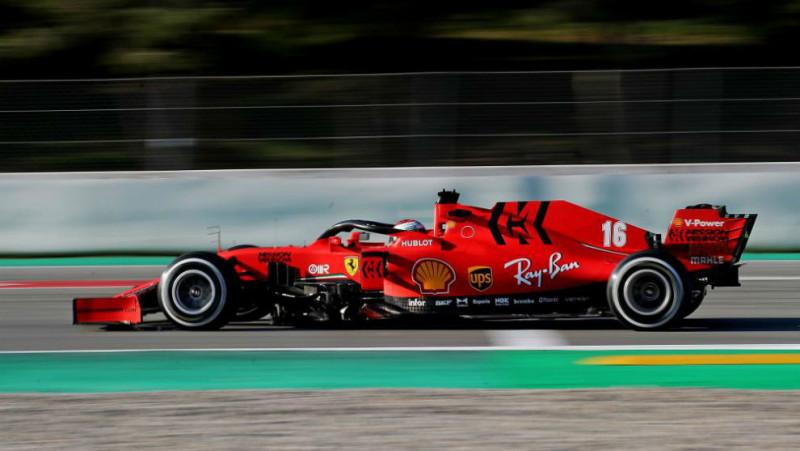 Ferrari regresa a las pistas en las pruebas de la F1