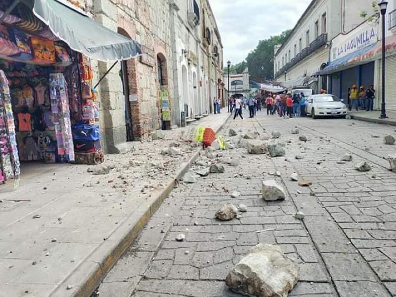 Protección Civil confirma 6 muertos por sismo de 7.5 grados en Oaxaca