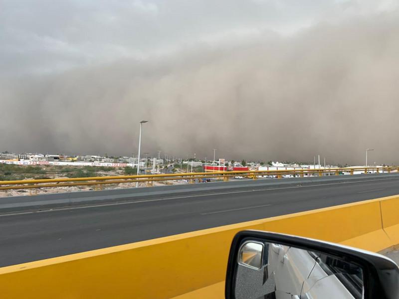 Video: impresionante tormenta de arena cae sobre Torreón, Coahuila