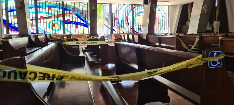 Solo algunas iglesias podrán abrir este domingo con capacidad máxima del 30%