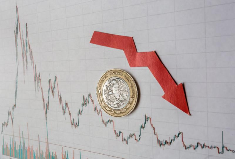 La economía de México cae 17.3% y 19.9% en abril,  con respecto a marzo de 2020 y abril de 2019