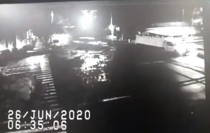 Video: Cámaras del C5 graban atentado contra Jefe de Seguridad de la CDMX