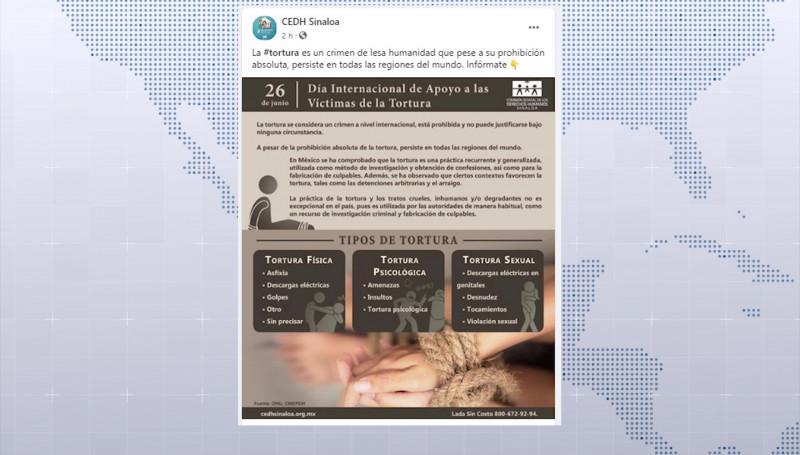 La tortura, práctica recurrente como método de investigación: CEDH
