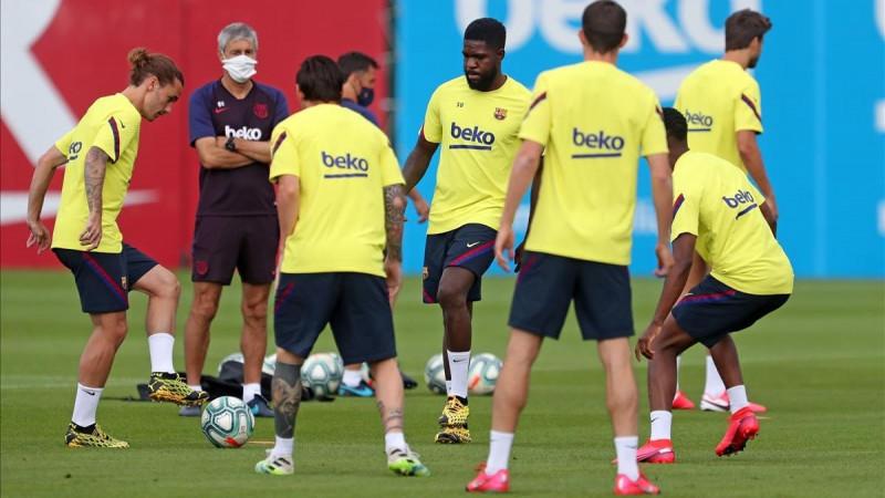 El Barça con 8 futbolistas de la filial para este sábado