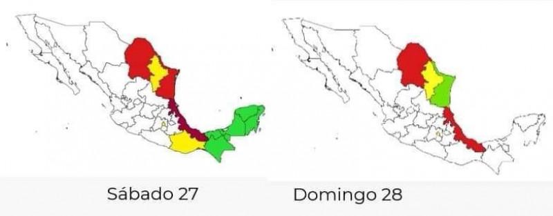"En Sinaloa no afectará el ""Polvo de Sahara"" señala CENAPRED: Proteccion Civil Sinaloa"