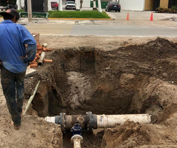 Terminan interconexiones en la Camarón Sábalo