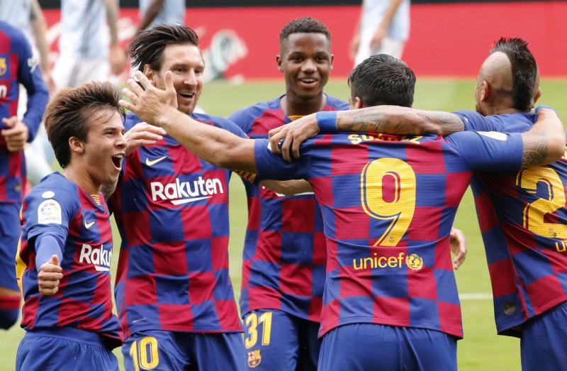 El Barcelona empata ante el Celta de Vigo