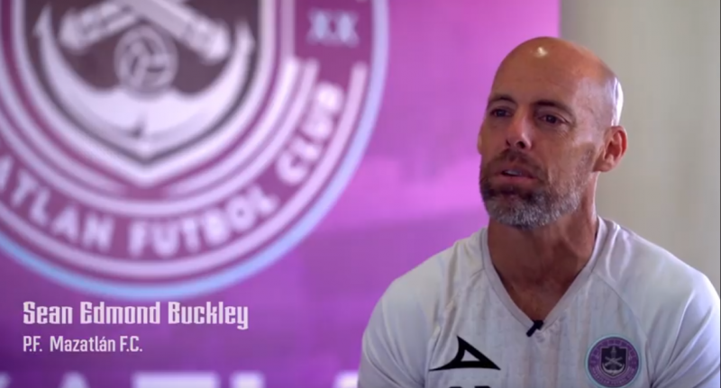 Sean Buckley, responsable de la preparación física de Mazatlàn FC
