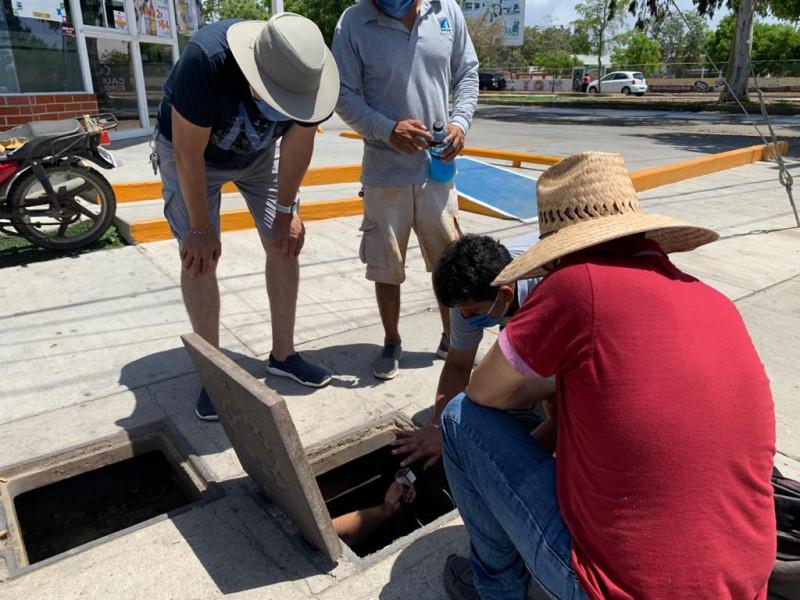 En vísperas de reapertura turística se fue el agua en Cerritos