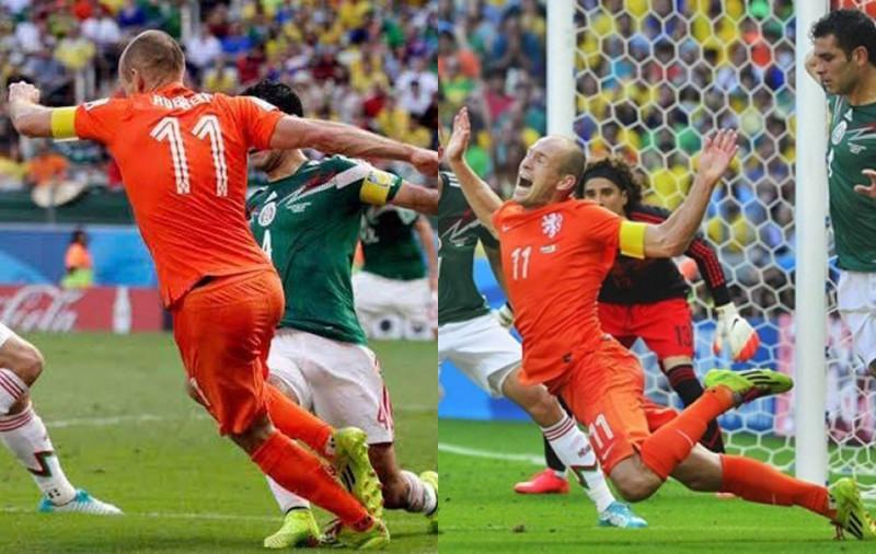 """Aún duele el """"no era penal"""" de hace seis años contra Holanda"""