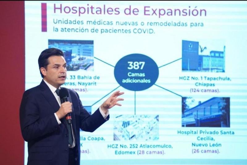 IMSS con infraestructura hospitalaria para atención de pacientes COVID