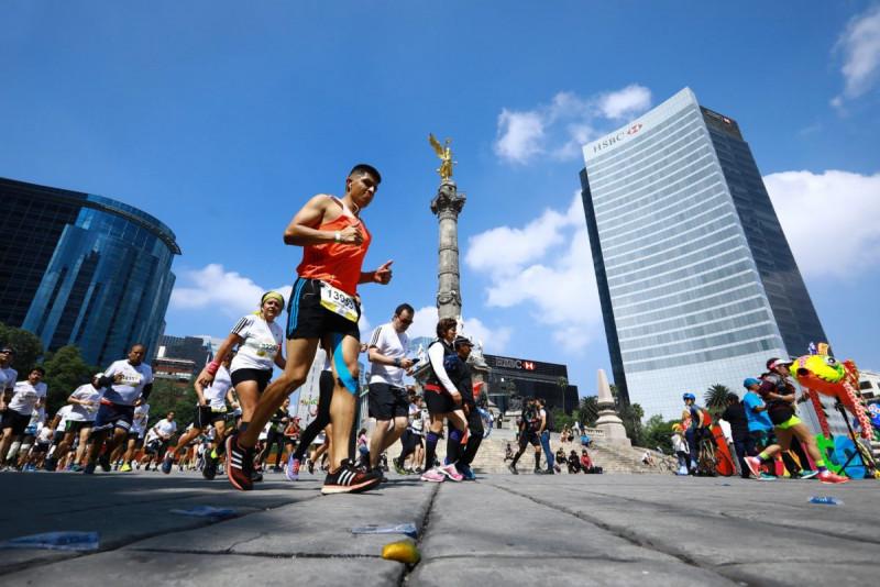 Cancelan el Maratón de la CDMX