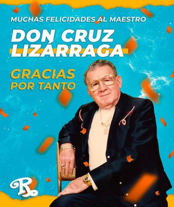 Celebran 102 Aniversario de Don Cruz Lizárraga