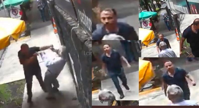 Video: #LordBanqueta agrede a la gente que se atraviese en su camino