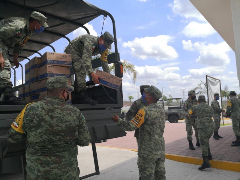 Continúan llegando insumos médicos a Sinaloa