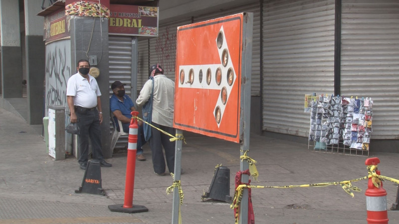 Flexibilizan medida de calles cerradas