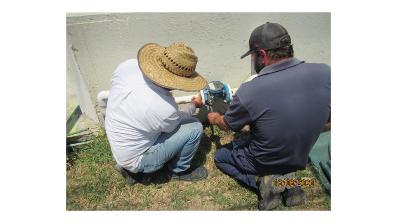 Clausuran 62 tomas clandestinas de agua potable