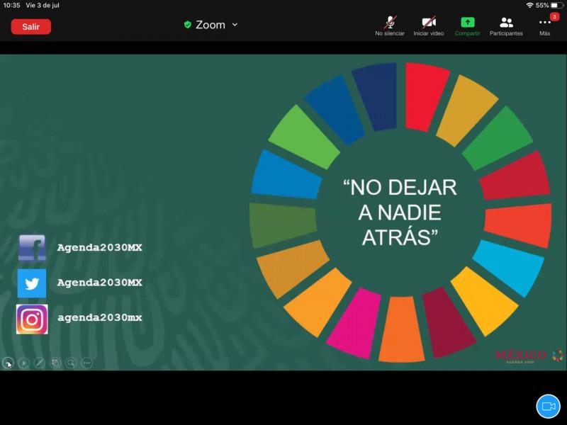 Reconocen avance de Sinaloa en indicadores de la Agenda 2030