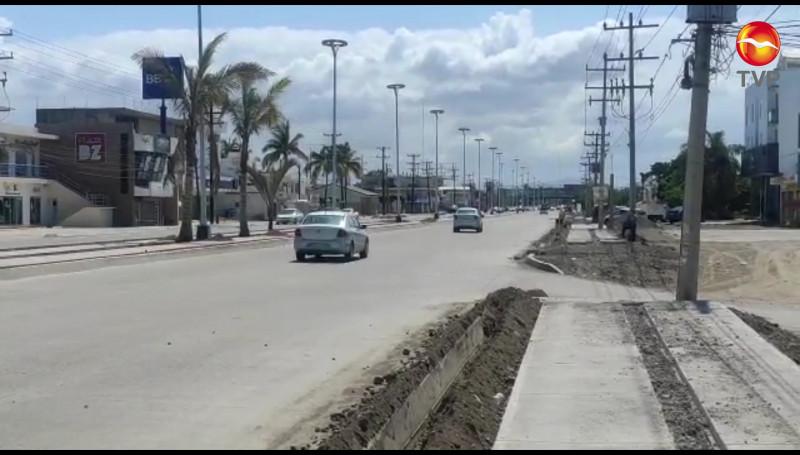 Ya está abierta a la circulación vehicular toda la Avenida Rafael Buelna