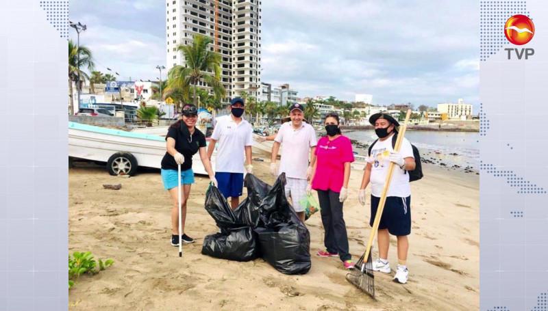 Se retiran 200 kilos de basura de las playas este domingo