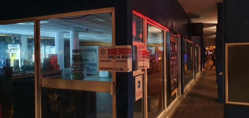 Sancionados tres negocios este fin de semana en Mazatlán