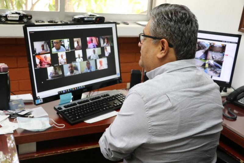 Inicia formación de nuevos cadetes del INECIPE en forma virtual