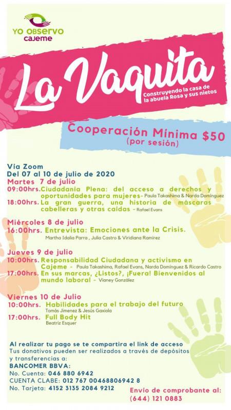 Invitan a participar en La Vaquita a beneficio de la Abuela Rosa