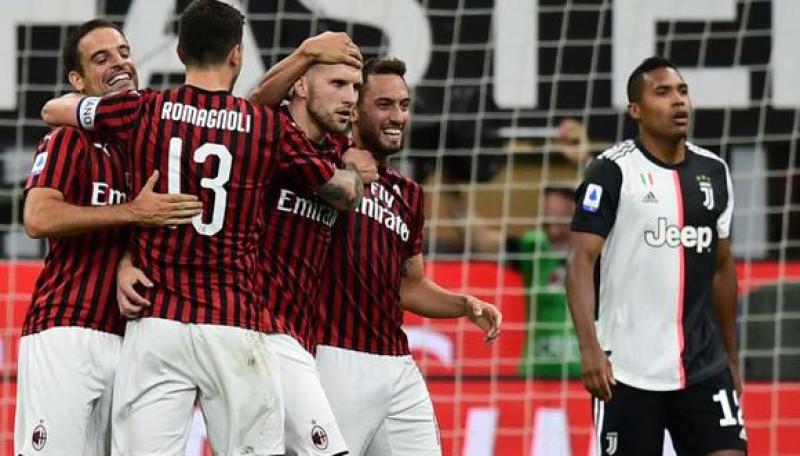 Milan frenó a la Juventus