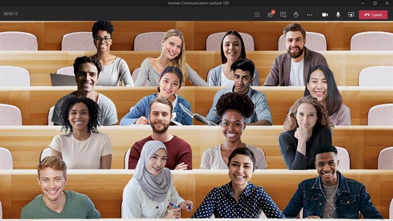 Ahora en videoconferencias podrás simular que estás en el salón de clases
