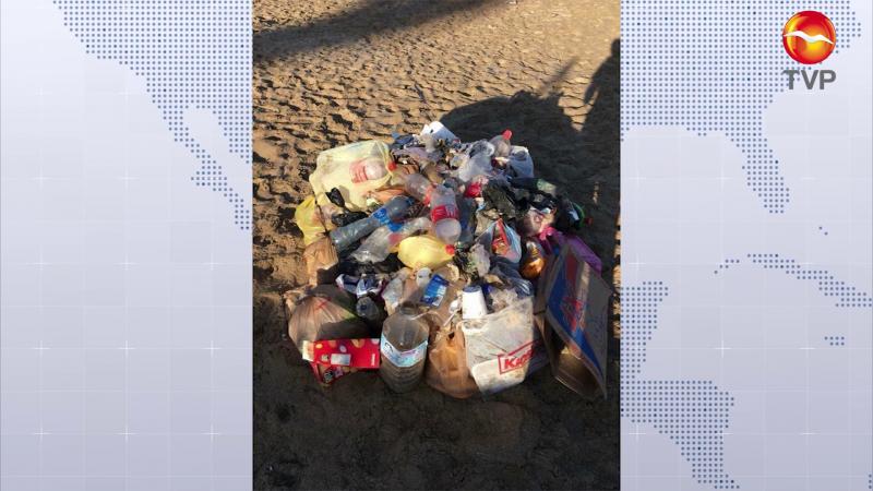 Se 'desborda' basura en Mazatlán en la primera semana de reactivación