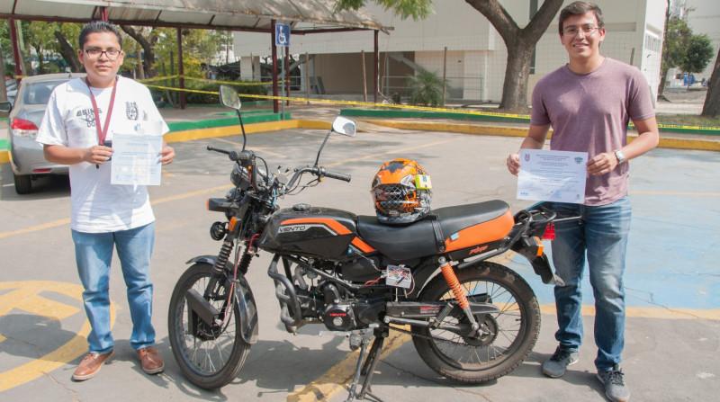 Estudiantes del IPN desarrollan sistema antirrobo de motocicletas