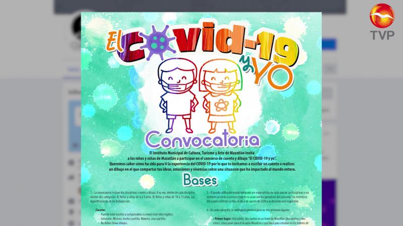 """Invitan a concurso de cuento y dibujo el """"Covid-19 y yo"""""""