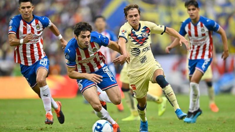Clásico Chivas ante América en la Semifinal de la Copa X México