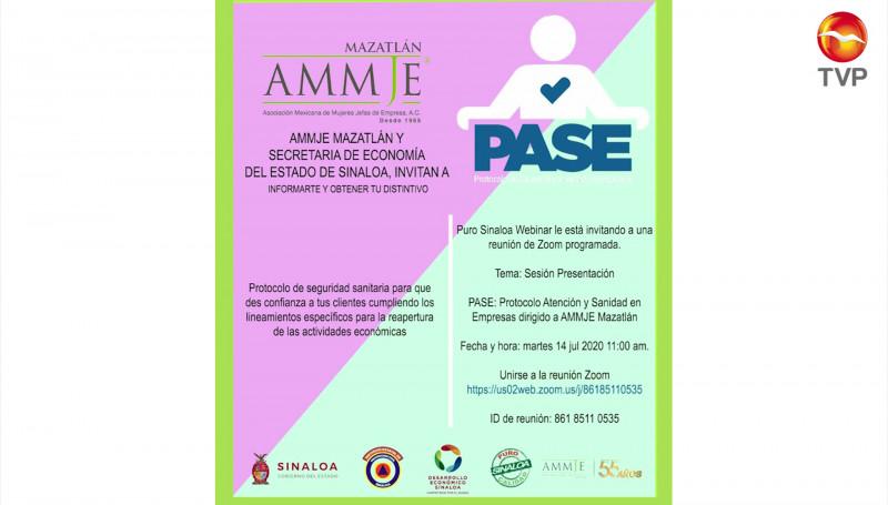 Invita AMMJE a reunión virtual sobre protocolos de seguridad