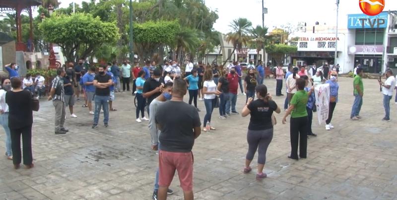 Protesta ahora el sector de entretenimiento en Mazatlán