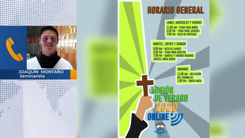 Seminaristas harán Misiones de Verano por Internet