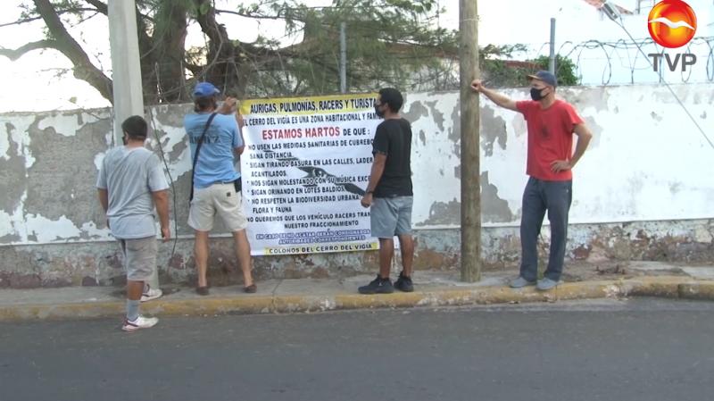 Colonos del Cerro del Vigía nuevamente piden orden y tranquilidad